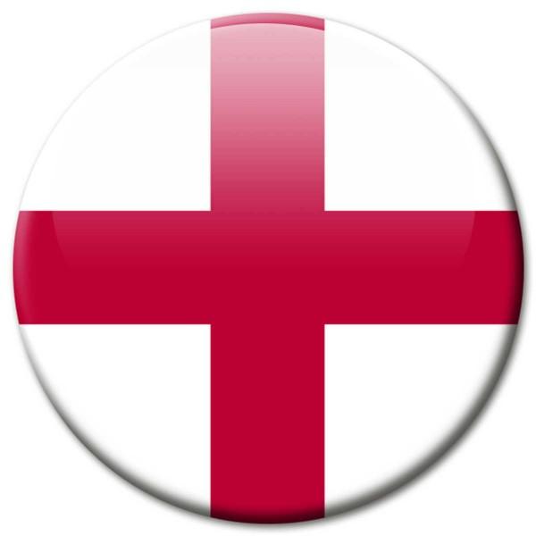 Flagge England, Magnet 5 cm