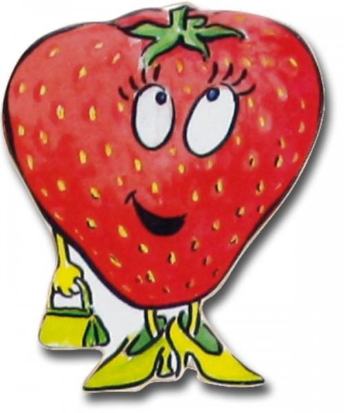 Magnet Erdbeere - Kühlschrankmagnet Süße Erdbeer-Lady - HN 2142-E