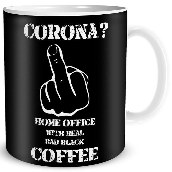 Corona Home Office, Tasse 300 ml, Schwarz