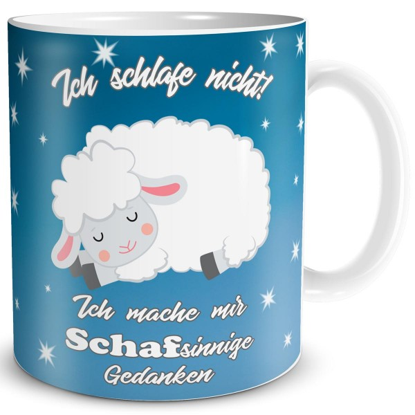 Schafsinnige Gedanken, Tasse 300 ml
