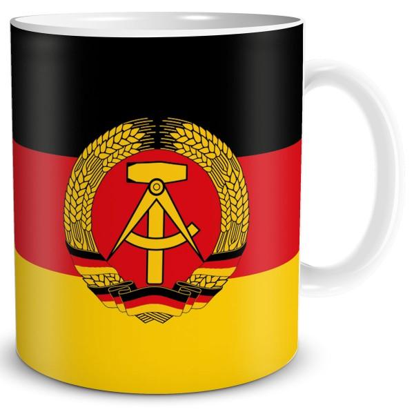 Flagge DDR, Tasse 300 ml