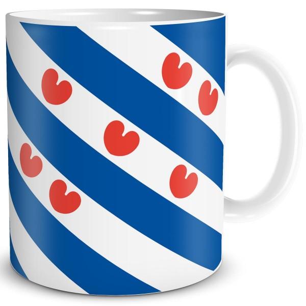 Flagge Friesland, Tasse 300 ml