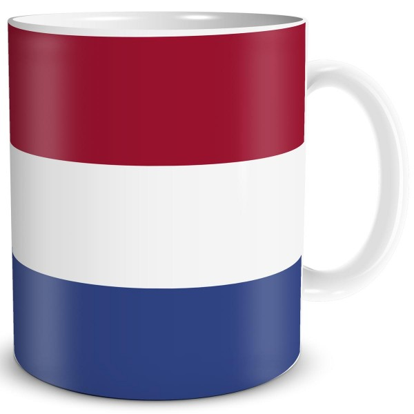 Flagge Niederlande, Tasse 300 ml