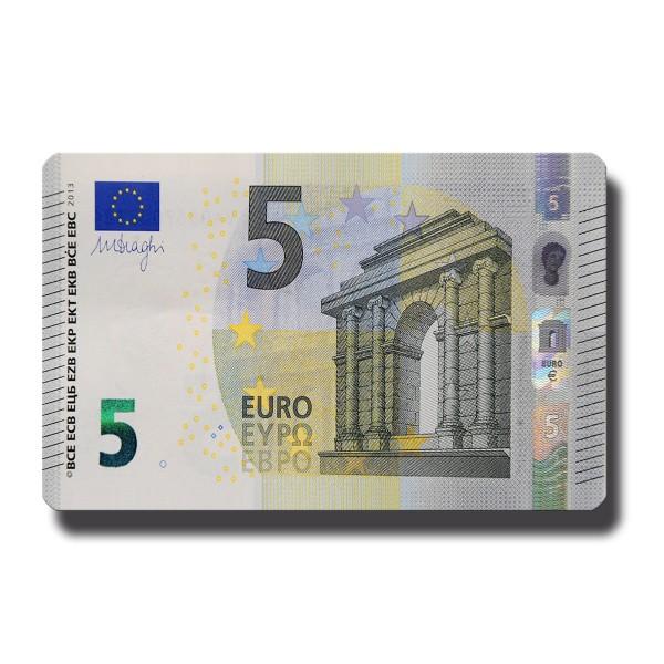 5 Euroschein, Geldschein Magnet 8,5x5,5 cm