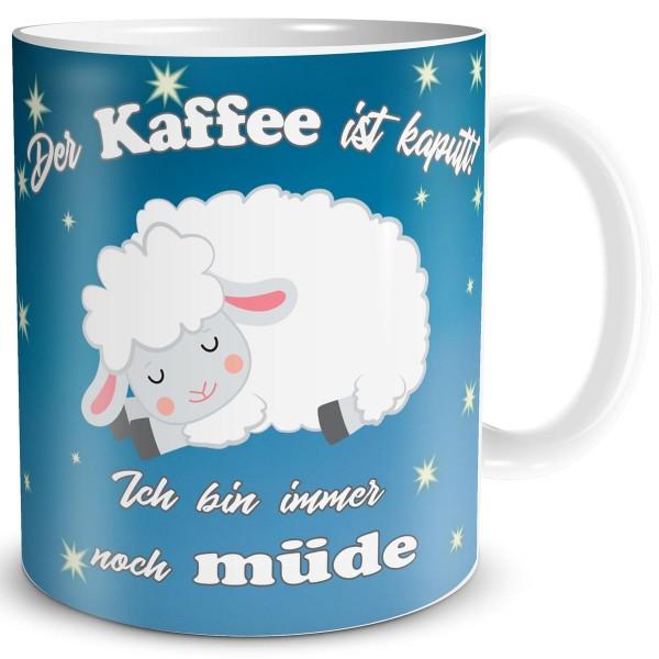 Schaf Kaffee Kaputt, Tasse 300 ml