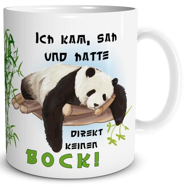 Panda Kein Bock, Tasse 300 ml