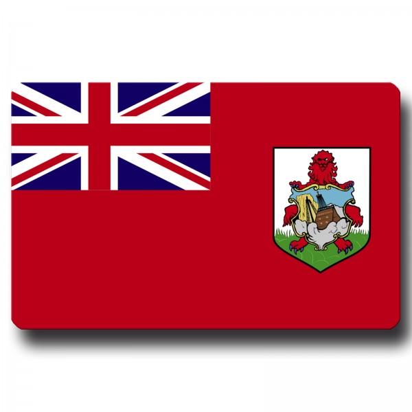 Flagge Bermuda, Magnet 8,5x5,5 cm