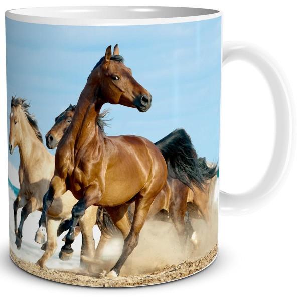 Pferde am Meer, Tasse 300 ml