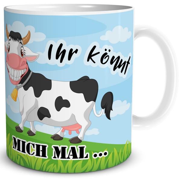 Kuh Ihr könnt mich mal, Tasse 300 ml
