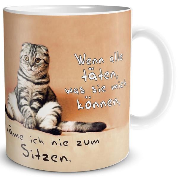 Katzen Sitzung, Tasse 300 ml