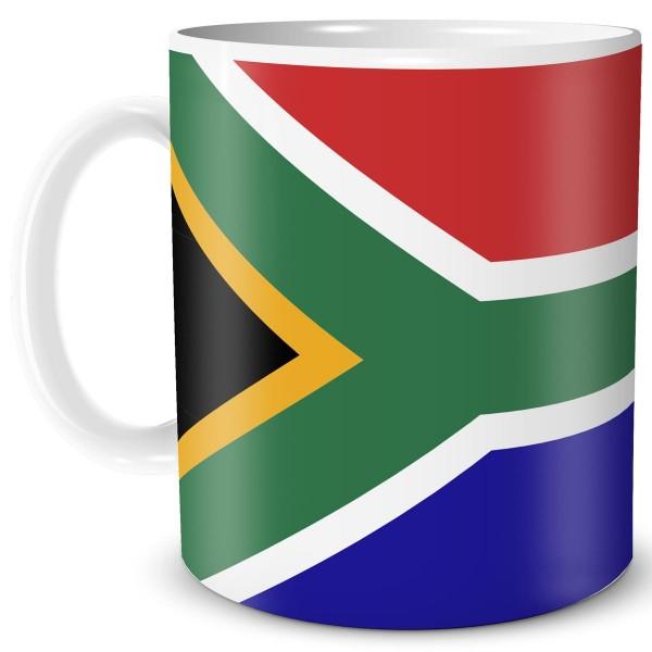 Flagge Südafrika, Tasse 300 ml