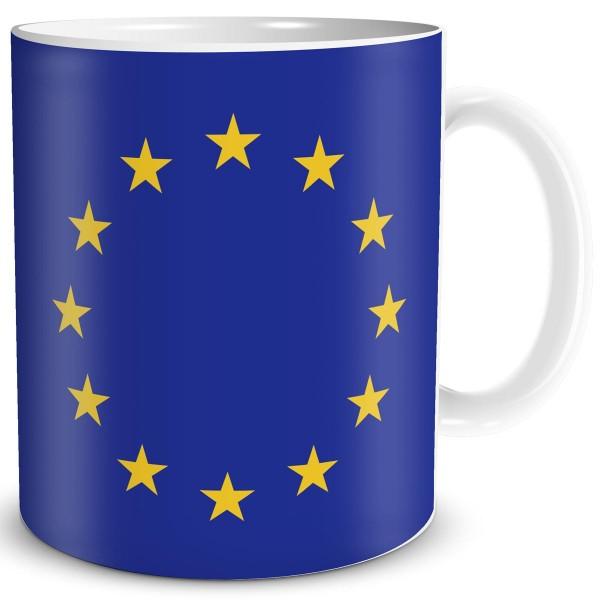 Flagge Europa, Tasse 300 ml