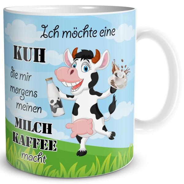 Kuh Milchkaffee, Tasse 300 ml