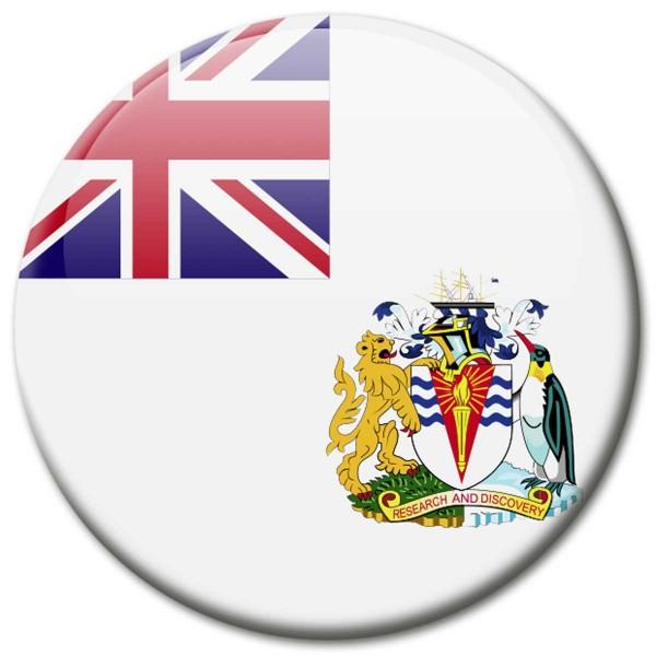 Flagge Britisches Antarktis-Territorium, Magnet 5 cm