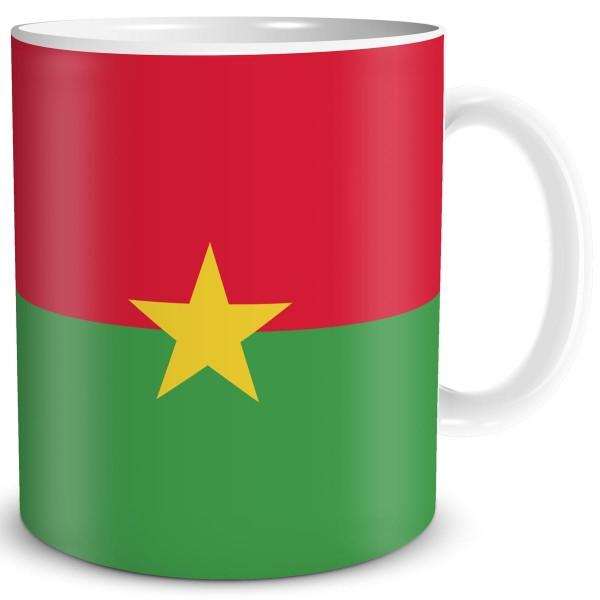 Flagge Burkina Faso, Tasse 300 ml