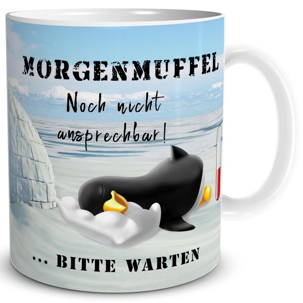 Pinguin Morgenmuffel, Tasse 300 ml