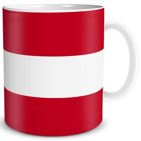 Flagge Österreich, Tasse 300 ml