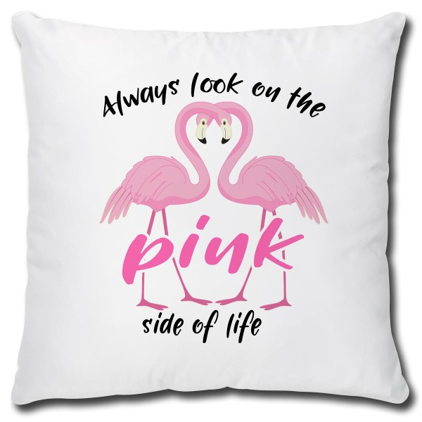Flamingo Pink Side, Kissen 40x40 cm