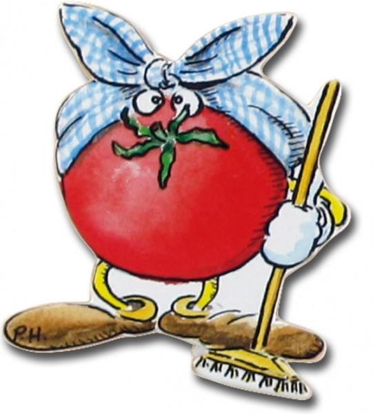 Magnet Tomate - Kühlschrankmagnet Putzige Tomate - HN 2142-A