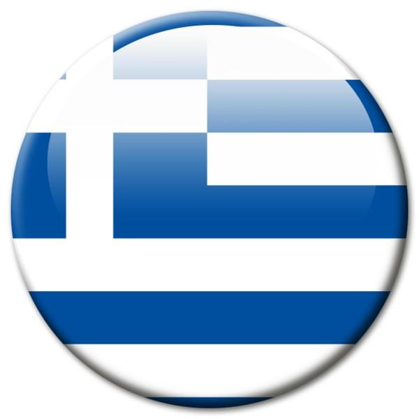 Flagge Griechenland, Magnet 5 cm