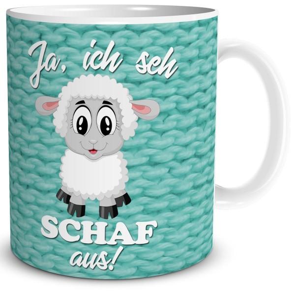 Ich sehe Schaf aus, Tasse 300 ml