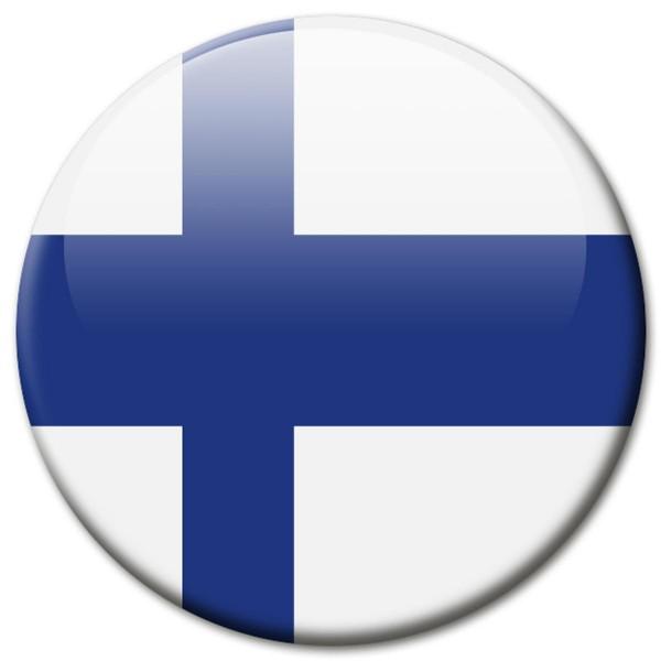 Flagge Finnland, Magnet 5 cm