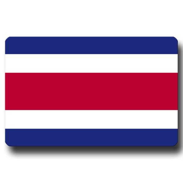 Flagge Costa Rica, Magnet 8,5x5,5 cm