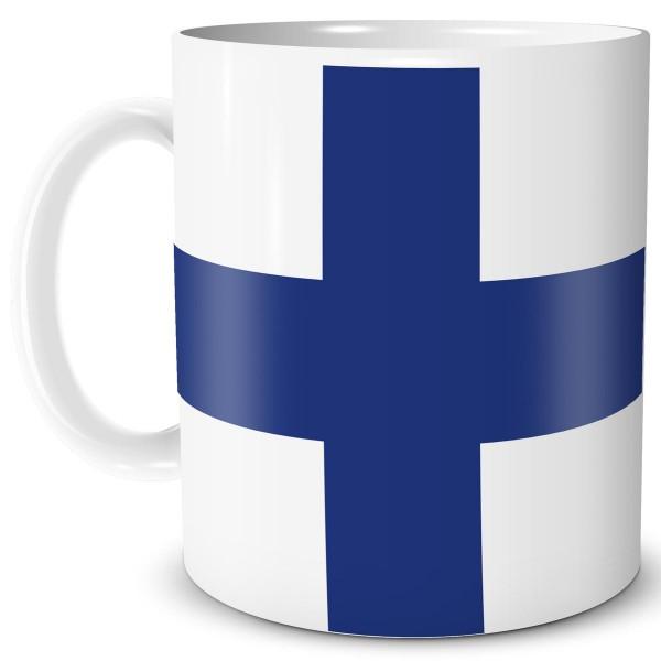 Flagge Finnland, Tasse 300 ml