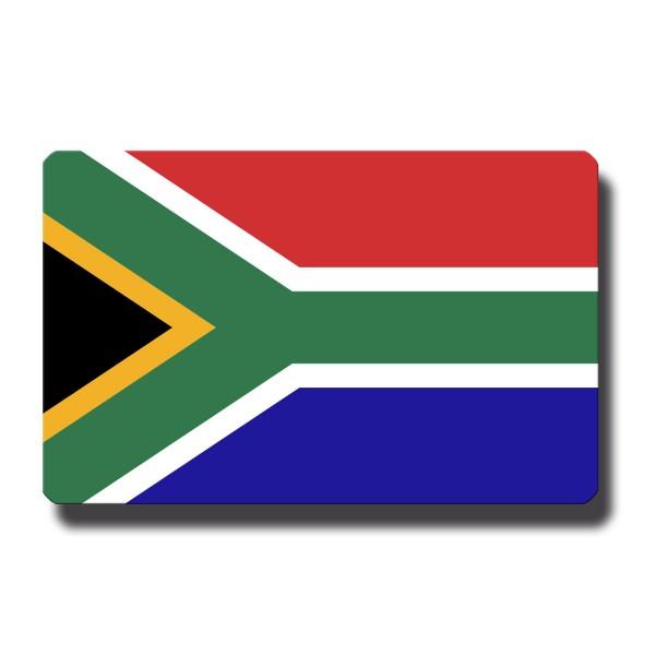 Flagge Südafrika, Magnet 8,5x5,5 cm