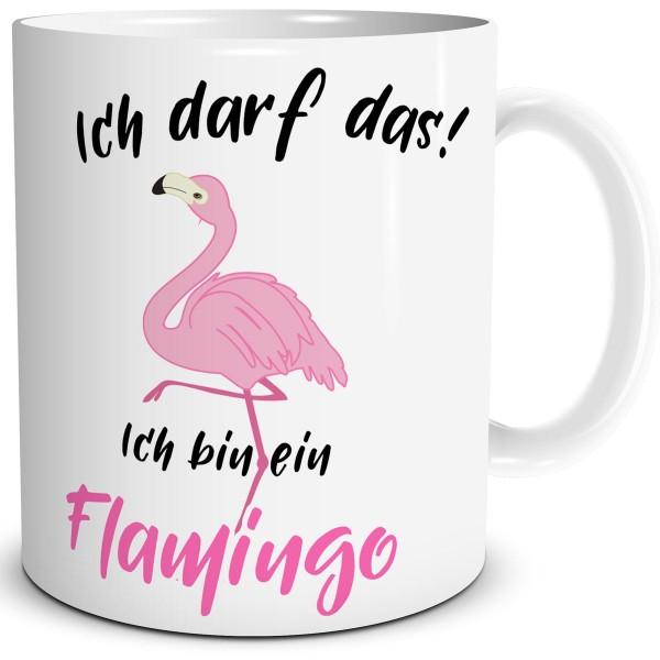 Flamingo Ich darf das, Tasse 300 ml