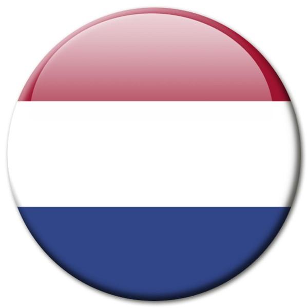Flagge Niederlande, Magnet 5 cm