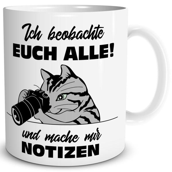 Katzen Notizen, Tasse 300 ml