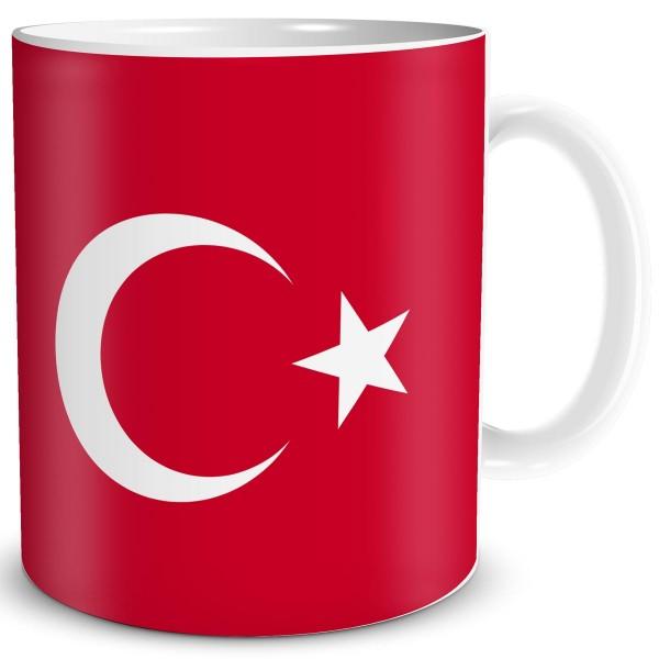 Flagge Türkei, Tasse 300 ml