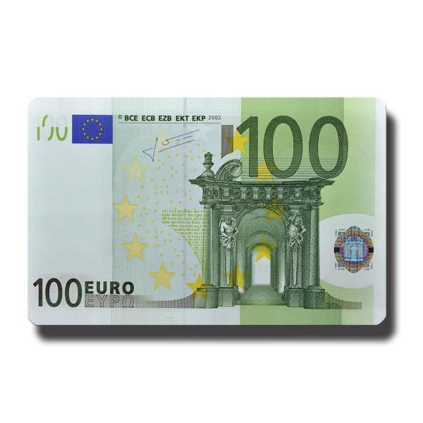 100 Euroschein, Geldschein Magnet 8,5x5,5 cm