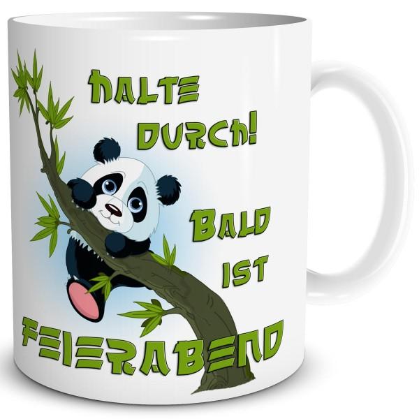 Panda Halte Durch, Tasse 300 ml