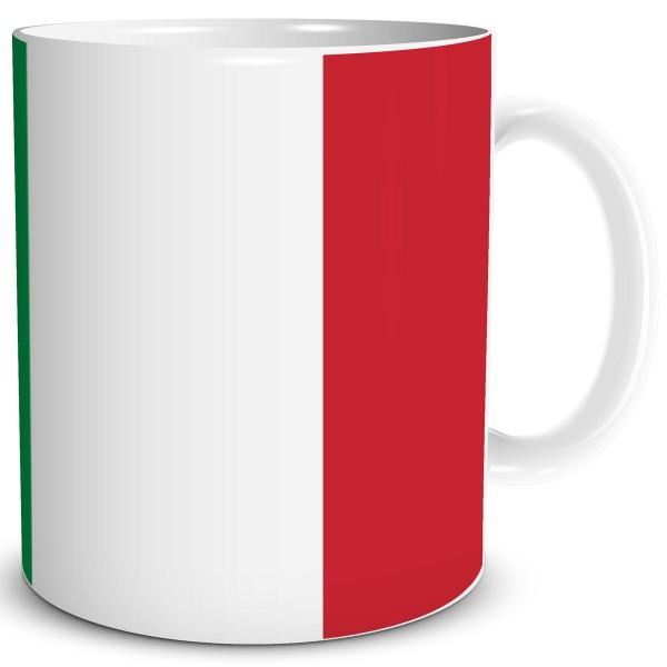 Flagge Italien, Tasse 300 ml