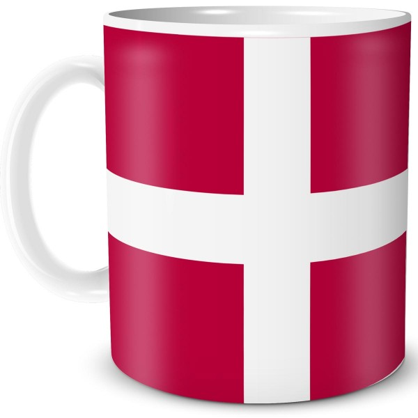 Flagge Dänemark, Tasse 300 ml