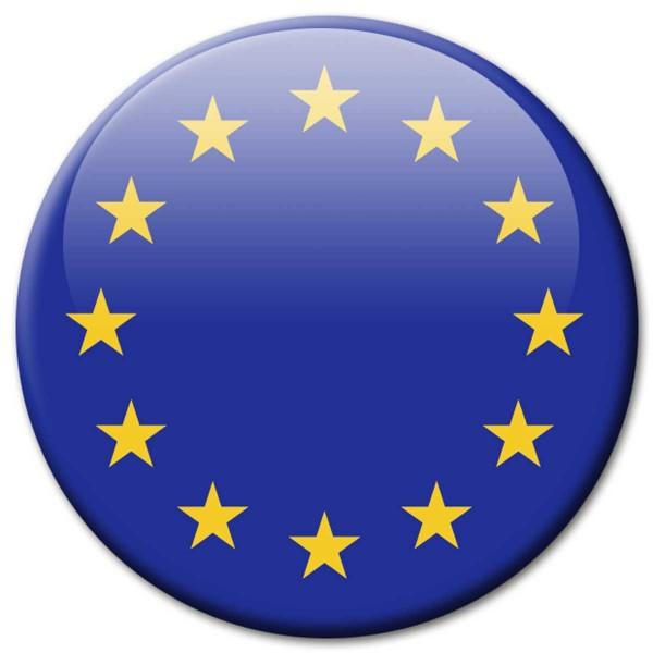 Flagge Europa, Magnet 5 cm