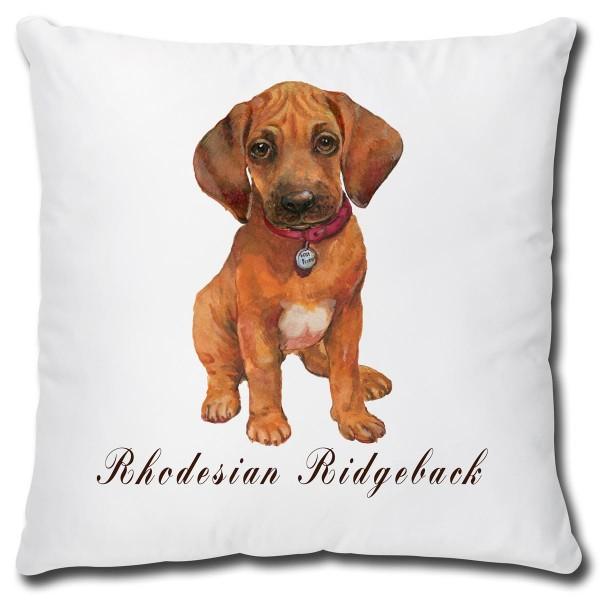 Rhodesian Ridgeback Hund, Kissen 40x40 cm