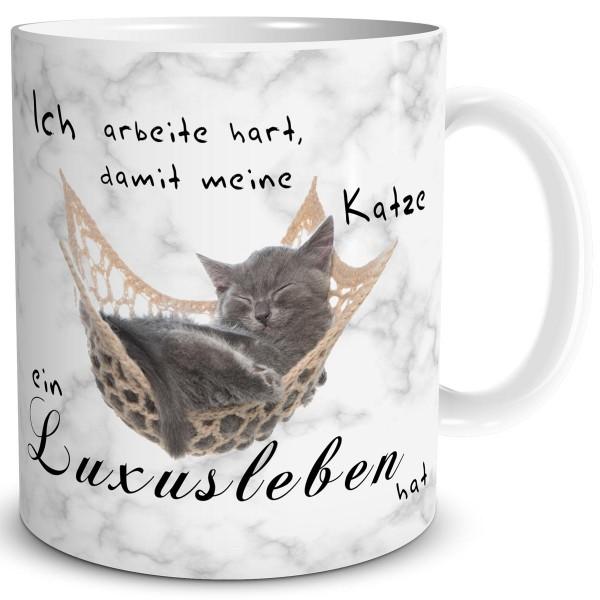 Katze Luxusleben, Tasse 300 ml