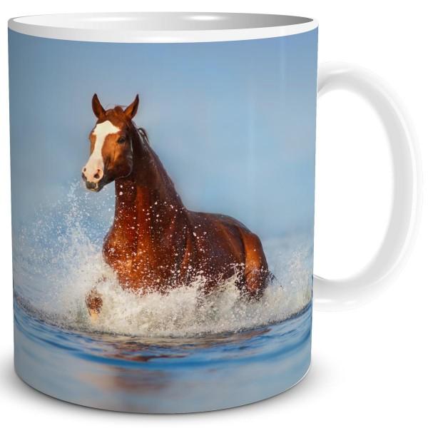 Pferd im Meer, Tasse 300 ml