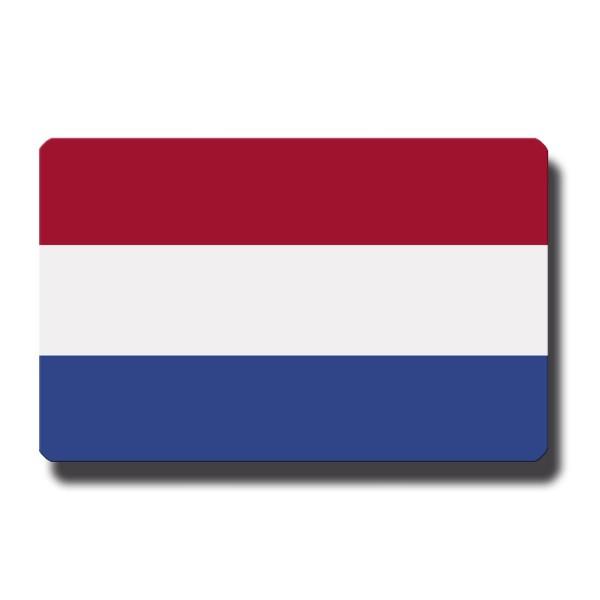Flagge Niederlande, Magnet 8,5x5,5 cm