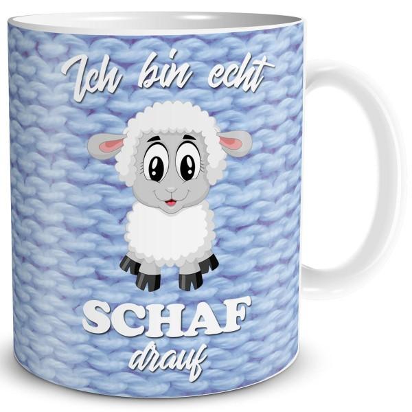 Schaf Drauf, Tasse 300 ml