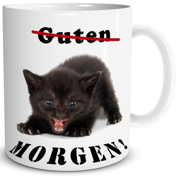 Katze Guten Morgen, Tasse 300 ml