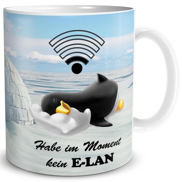 Pinguin Kein Elan, Tasse 300 ml