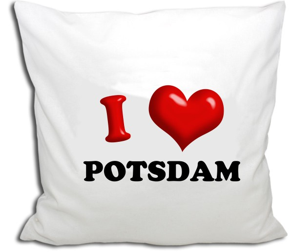 Potsdam Knuddel Herz, Kissen 40x40 cm