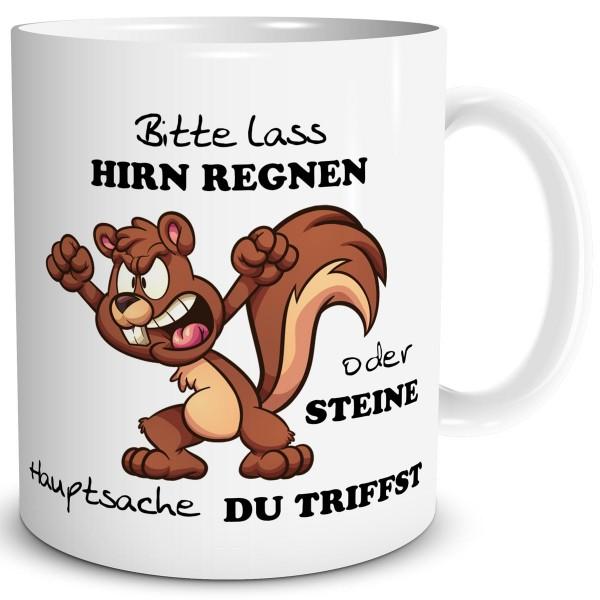 Eichhörnchen Hirn Regnen, Tasse 300 ml