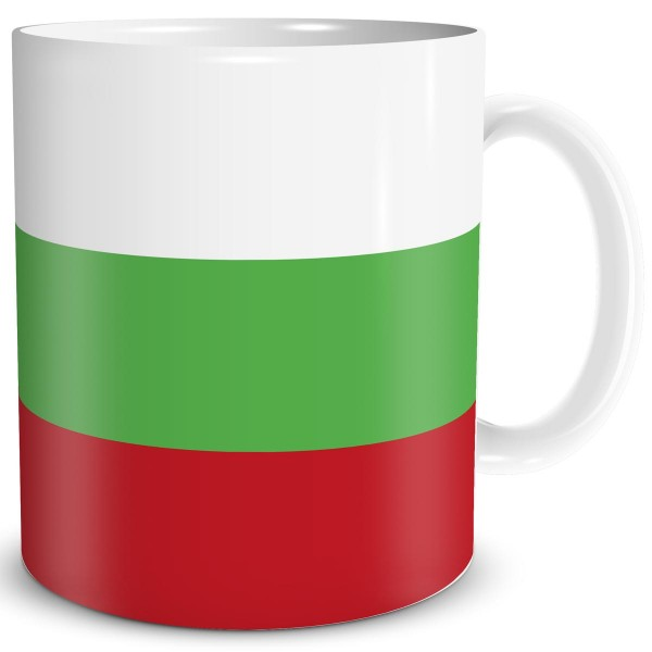 Flagge Bulgarien, Tasse 300 ml