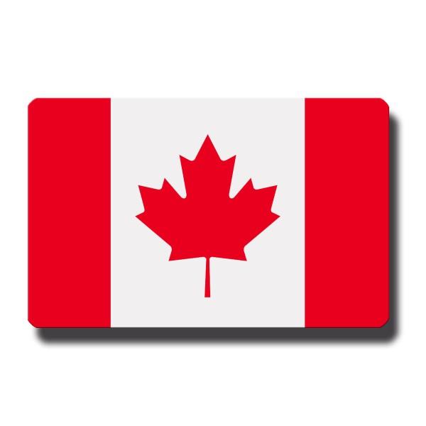 Flagge Kanada, Magnet 8,5x5,5 cm