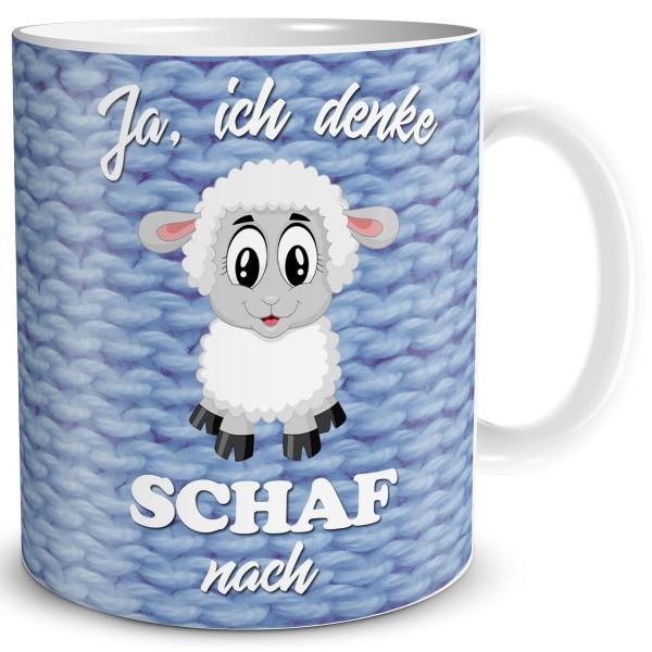 Ich denke Schaf nach, Tasse 300 ml
